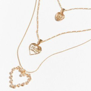 3/$30 🧡 UO Sweatheart Chain Layering Necklace